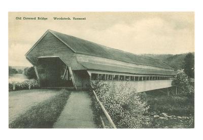 Covered Bridge, Woodstock, Vermont