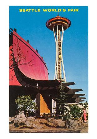 Space Needle, World's Fair Building, Seattle, Washington