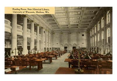 Reading Room, Historical Library, Madison, Wisconsin