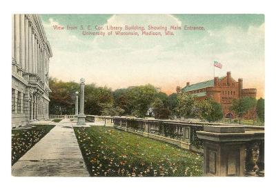 Entrance, University of Wisconsin, Madison