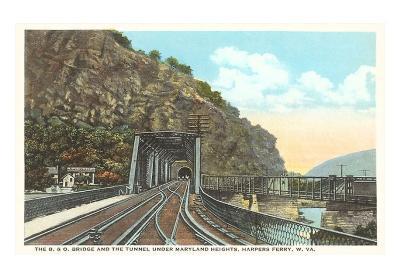 Bridge Tunnel, Harper's Ferry, West Virginia
