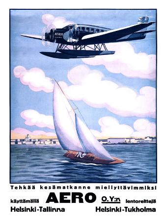 Helsinki Aero Sailboat