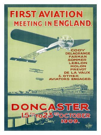 Doncaster First Aviation Air Show, c.1909