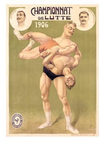 Championnat de Lutte, Professional Wrestling, c.1906