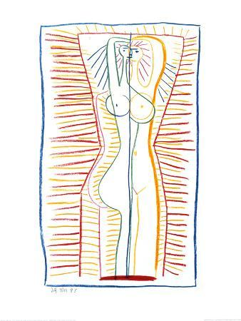Standing Female Nude II, c.1946