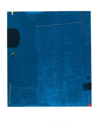 Diptychon Blau, c.1963