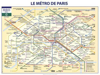 Le Metro De Paris Prints At Allposters Com