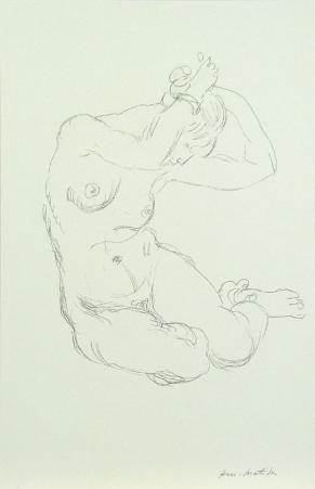 Nude, 1918