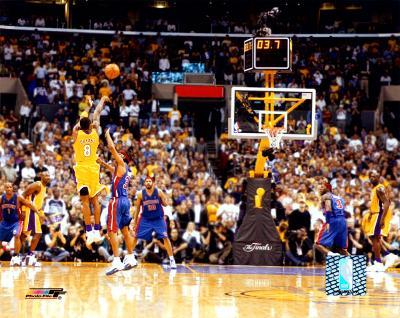 Kobe Bryant - '04 Finals - 3 point shot, rear view