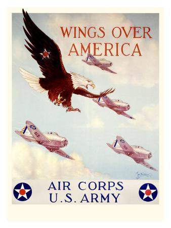 WWII, U.S. Army Air Corps, Wings Over America