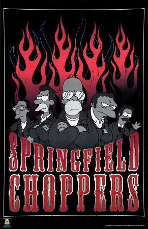 The Simpsons - Springfield Choppers (Gang)