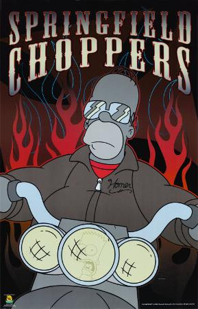 The Simpsons - Springfield Choppers (Homer)