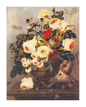 Roses, Carnations, Convolvuli