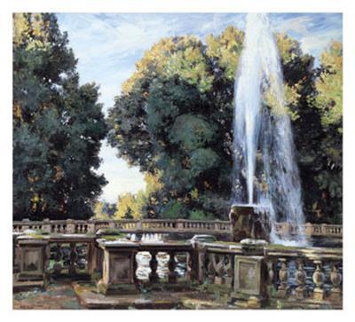The Fountain, Villa Torlonia