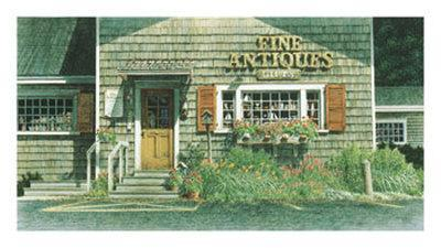 antiques store cape cod posters by chuck huddleston at. Black Bedroom Furniture Sets. Home Design Ideas