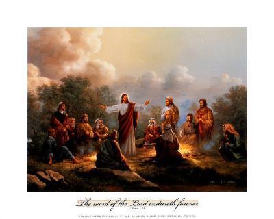 Jesus Spreading the Word