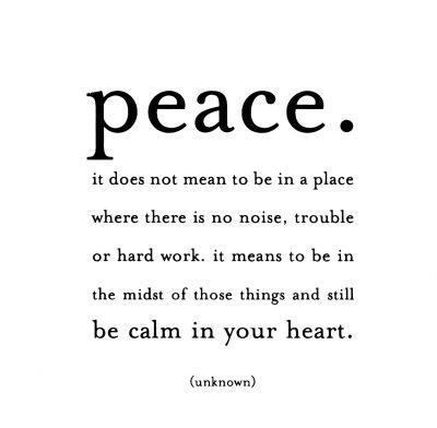 Peace - Unknown