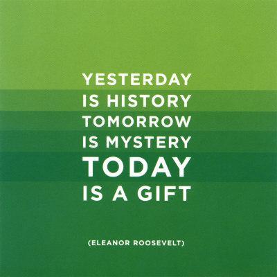 Today- Eleanor Roosevelt