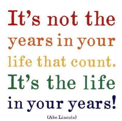 Life- Abraham Lincoln