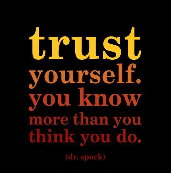 Trust Yourself - Dr. Benjamin Spock' Magnet - | AllPosters.com