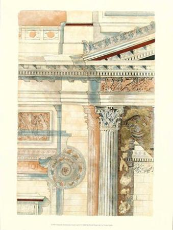 Classical Architecture with Goldleaf II