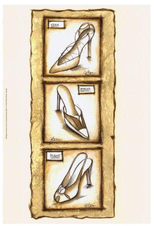 Sepia Shoes I