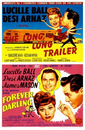 The Long, Long Trailer/Forever, Darling