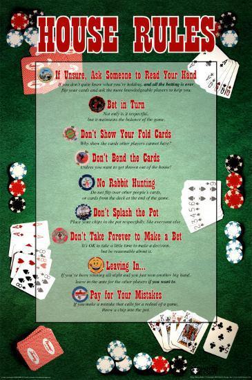 Home Poker Tournament Rules