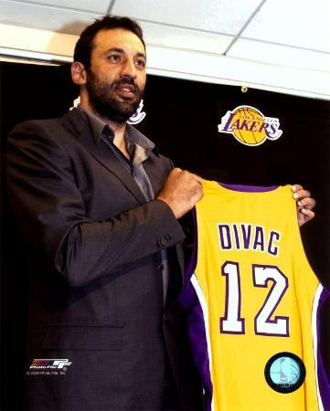 Vlade Divac - 2004 Press Conference (Lakers)