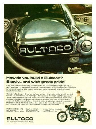 How We Build a Bultaco