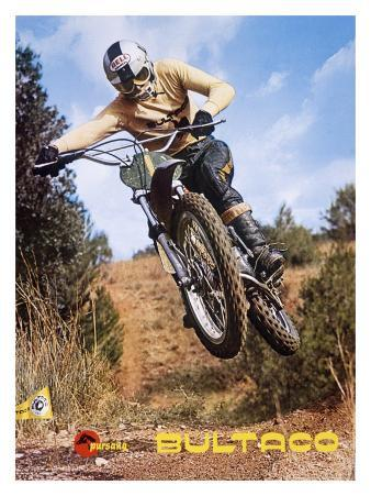 Bultaco Pursang MX Motocross