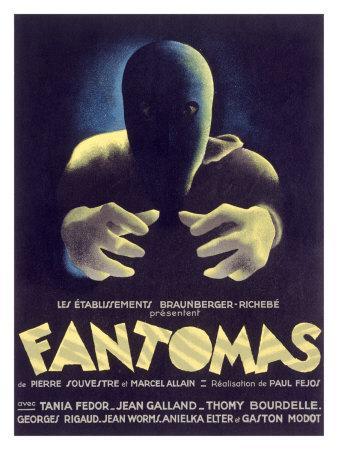 Fantomas, Sci-Fi Movie Poseter
