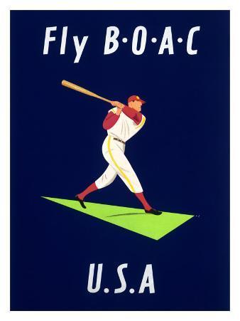 British Airways BOAC Fly U.S.A.