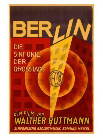 Ruttmann Berlin Symphony of a Great City
