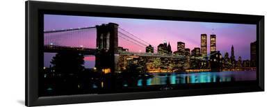 Brooklyn Bridge & NYC Skyline