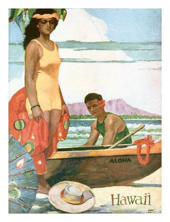 The Story Of Hawaii, Tourist Bureau Booklet 1929 Edition