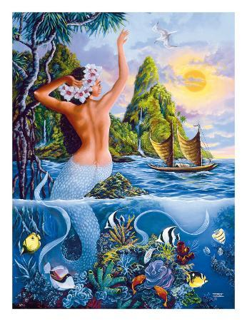 Wahine from the Sea, Hawaiian Mermaid