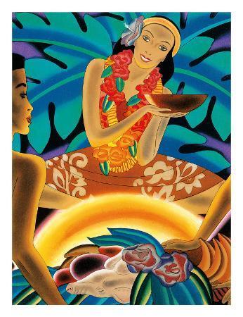 The Hawaiian Luau, Menu Cover, c. 1930s