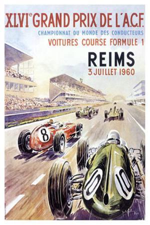 Reims F1 French Grand Prix, c.1960