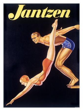 Jantzen Men Womens Swimwear