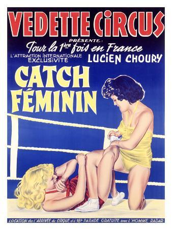 Vedette Circus Womens Wrestling
