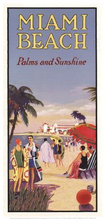 Miami Beach, Palms and Sunshine
