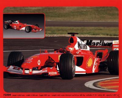 Ferrari F1, 2004