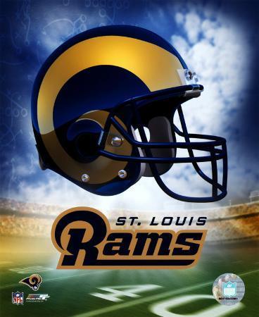 St. Louis Rams Helmet Logo