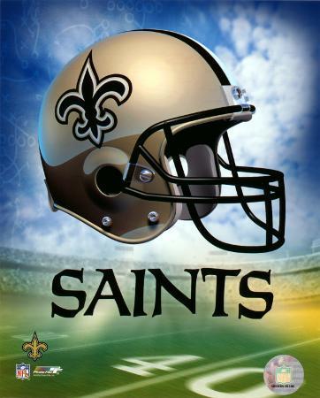 New Orleans Saints Helmet Logo