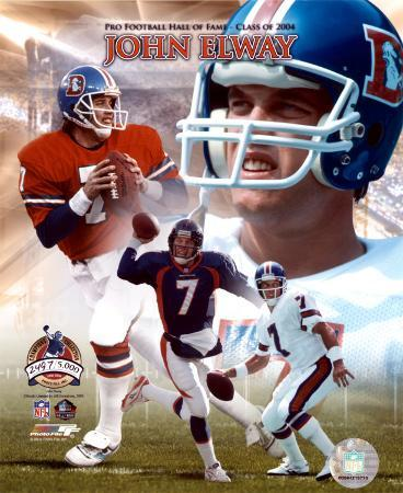 John Elway - Pro Football Hall Of Fame Class of 2004, PF Gold V (Limited Edition)