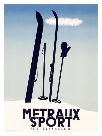 Metraux Downhill Ski Sports
