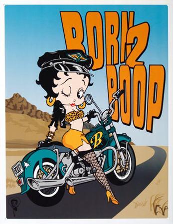 Betty Boop Born to Boop