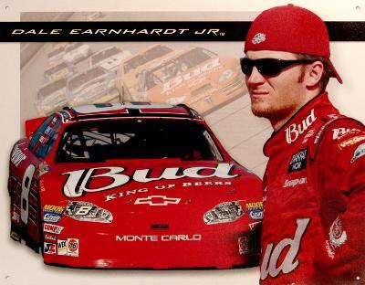 Dale Jr Bud Racing