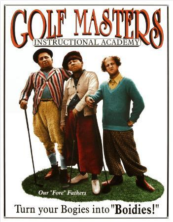 Three Stooges Golf Masters